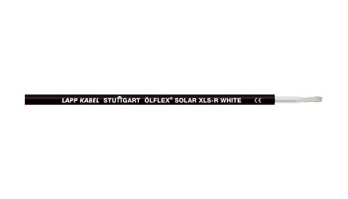 Кабель для сонячних батарей Olflex Solar XLS-R 1x6 WH/BK (0023138)