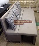 Вузький диван для кухні або офісу 1800х550х850мм Качество, фото 2