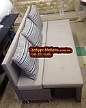 Вузький диван для кухні або офісу 1800х550х850мм Качество, фото 4