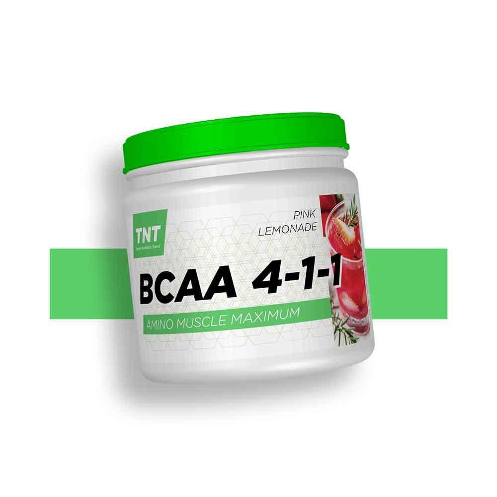 BCAA лейцин изолейцин валин для похудения 4-1-1 TNT Nutrition Польша | 500 г | 63 порций