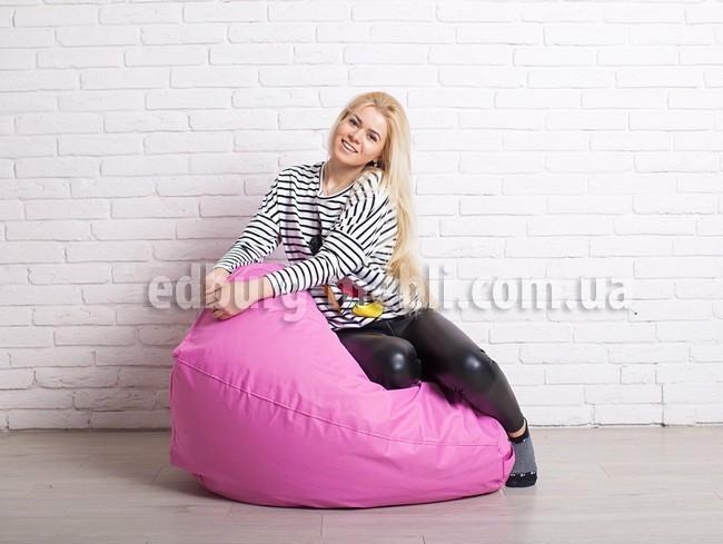 Кресло мешок груша |  розовый Oxford Качество