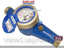 Многоструйный счетчик холодной воды мокрого типа TY3 Ду25 (Класс C) R=160 – Мокроход Baylan (Байлан)