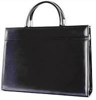 Женская деловая сумка из эко кожи Jurom черная
