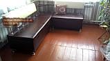 Кухонный уголок «Экстерн» с полками 160х200см Качество, фото 3