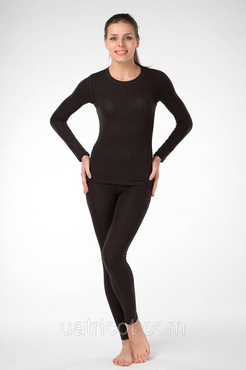 Термобелье женское коричневое мод.512