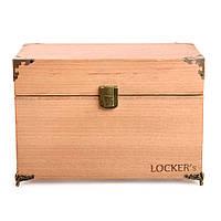 Екрануюча настільна скринька на 4 смартфона LOCKER's Box 4