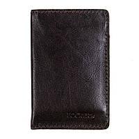 Обкладинка з RFID захистом для українського ID паспорта коричнева LOCKER's ID Brown