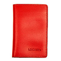 Обкладинка з RFID захистом для українського ID паспорта червона LOCKER's ID Red