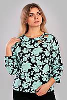 Женская блузка с розами