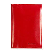 Обкладинка для паспорта і карт з RFID захистом червона LOCKER's Pas3 Red