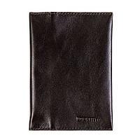 Обкладинка для паспорта і карт з RFID захистом коричнева LOCKER's Pas3 Brown