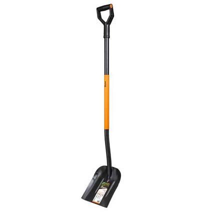 Совковая лопата с закаленной головкой  из борсодержащей стали. KT-V2020