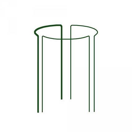 Кільцева опора для рослин, 1/3 кола, D=40см, H=45см, TYRP34045
