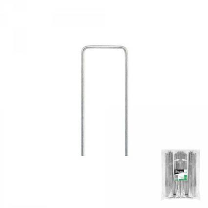 """Шпилька оцинкованная, металлическая, 3/15  см, 100 шт, """"U"""", ATSMGU1315/100L"""