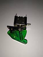 Тумблер на 2 положения 2 контакта с подсветкой и крышкой Зеленый