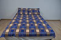 Двохспальний комплект постільної білизни 100%бавовна