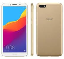 "Смартфон Huawei Honor 7 Play 2/16Gb Gold, 13/5Мп, 5.45"" IPS, 2SIM, 4G, 3020мА, MT6739, 4 ядер"