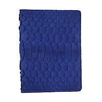 Обкладинка для паспорта з RFID захистом синя LOCKER's Pas Python