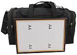 Сумка для тренувань 23 л Wallaby 270-3 з хакі чорний, фото 6