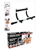 Турник для дома Айрон джим брусья Iron Gym тренажер в дверной проём! Качество