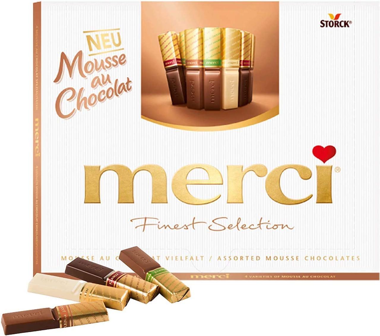 Шоколадные конфеты Merci Finest Selection Mousse Chocolate 210 g