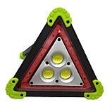 Багатофункціональний прожектор акумуляторний LED 30W LL-303 360 LED знак аварійний | Аварійка |, фото 3