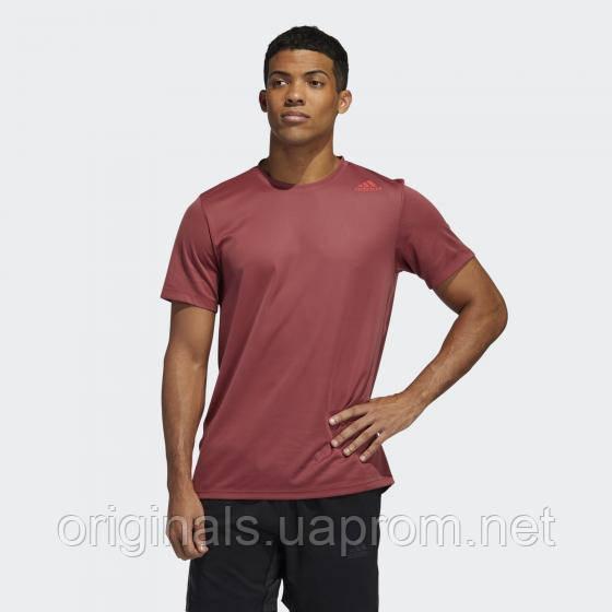 Мужская спортивная футболка Adidas HEAT.RDY 3-Stripes GC8189 2021/D