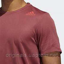 Мужская спортивная футболка Adidas HEAT.RDY 3-Stripes GC8189 2021/D, фото 3