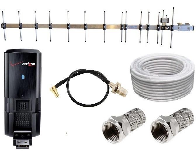 3G модем Pantech UM190 (UMW190) + антенна 16 дБ (дБи) + переходник + кабель