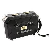 Компактный радиоприемник колонка Golon RX-333BTS, карманный приемник колонка с солнечной батареей, USB и SD