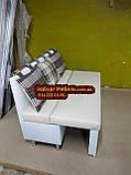 Диван для балкона с ящиком и спальным местом 1100х490мм Качество, фото 6