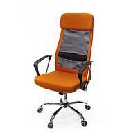 Крісло офісне Гілмор, помаранчевий, ергономічне м'яке комп'ютерне крісло, FX СН TILT А-Клас