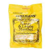 Леденцы Jakemans Honey Lemon Menthol 100 g