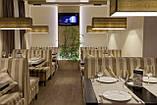 Диваны для ресторана с высокой спинкой в полоску Качество, фото 4