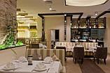 Диваны для ресторана с высокой спинкой в полоску Качество, фото 5