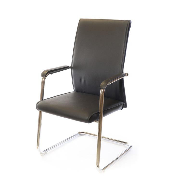 Крісло офісне Пауер, комп'ютерне крісло на колесах з підлокітниками, CH CF А-Клас