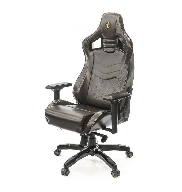 Кресло офисное Ретчет, коричневый, эргономичное мягкое компьютерное кресло, PL MB А-Клас