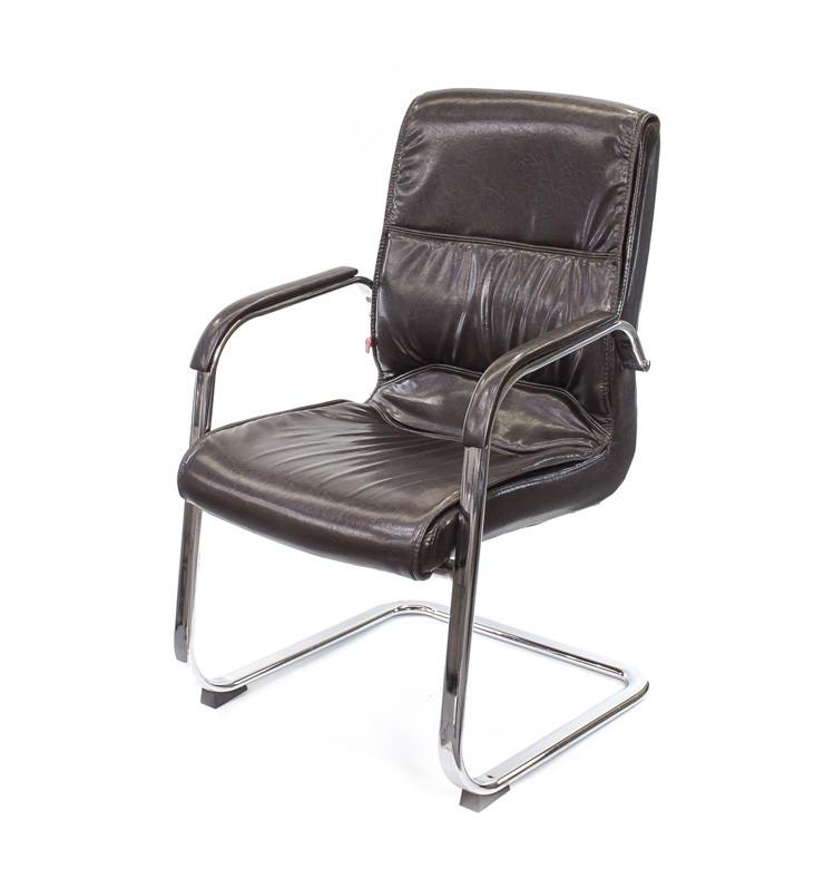 Крісло офісне Спрінг, комп'ютерне крісло на колесах з підлокітниками, CH CF А-Клас