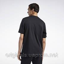 Мужская футболка Reebok Classics Linear FK2715 2021/D, фото 3