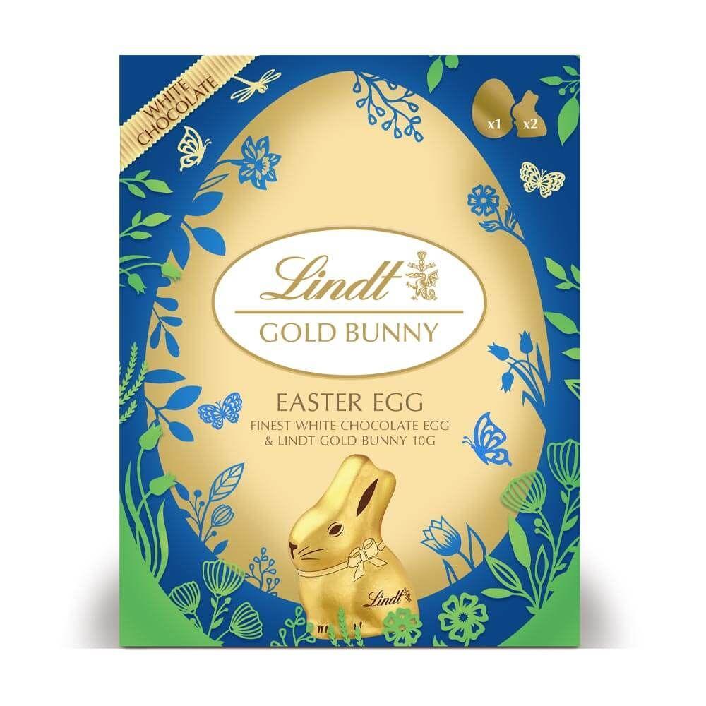 Шоколадное яйцо Lindt Gold Bunny Easter Egg 115 g