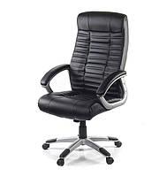 Кресло офисное Атлант, черный, эргономичное компьютерное кресло с подлокотниками, NEW PL TILT А-Клас