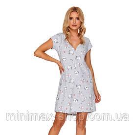 Домашнее платье Doctor Nap TCB 4110 Grey Польша 2020-21
