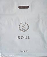 """Пакет Serikoff с прорезной ручкой 40х47см. 25шт. """" Soul """""""