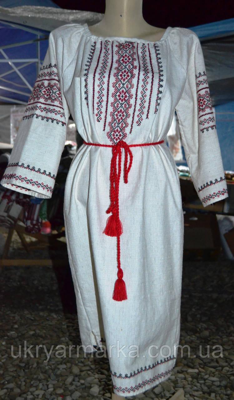 """Жіноче вишите плаття """"Людмила"""""""