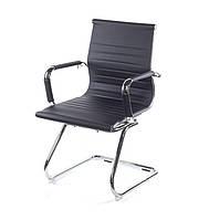 Крісло офісне Кап, комп'ютерне крісло на колесах з підлокітниками, CH CF А-Клас