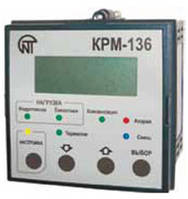 Контроллер реактивной мощности КРМ-136