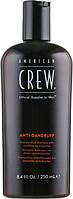 Балансуючий шампунь проти лупи для жирної шкіри голови - American Crew Anti Dandruff+Sebum Control Shampoo,250