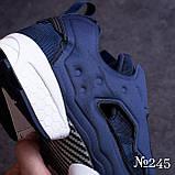 Кроссовки  синие № 245, фото 2