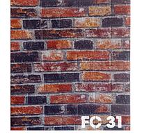 Панель самокліюча 3Д ПВХ 700*770*6мм FC 31