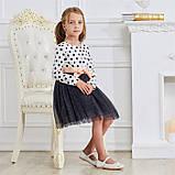 Святкова дитяча сукня на зріст 104-110 см (4-5 років), фото 2